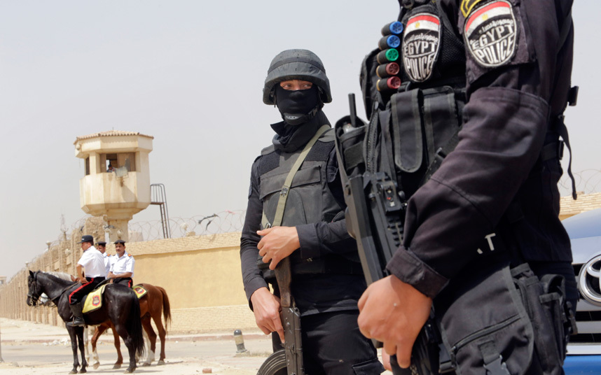 Egyptian Security Forces Foil Terrorist Attack On Church