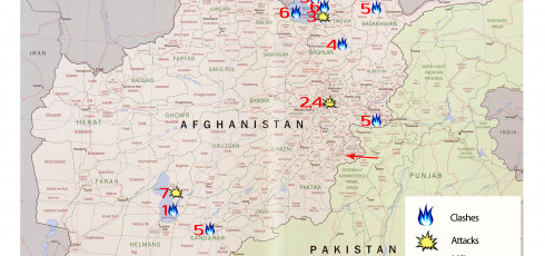 Afghanistan Map Of War August Talibans Disunity Hasnt - Us invasion of afghanistan everyday map