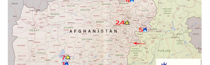 Afghanistan Map of War, August 16, 2015