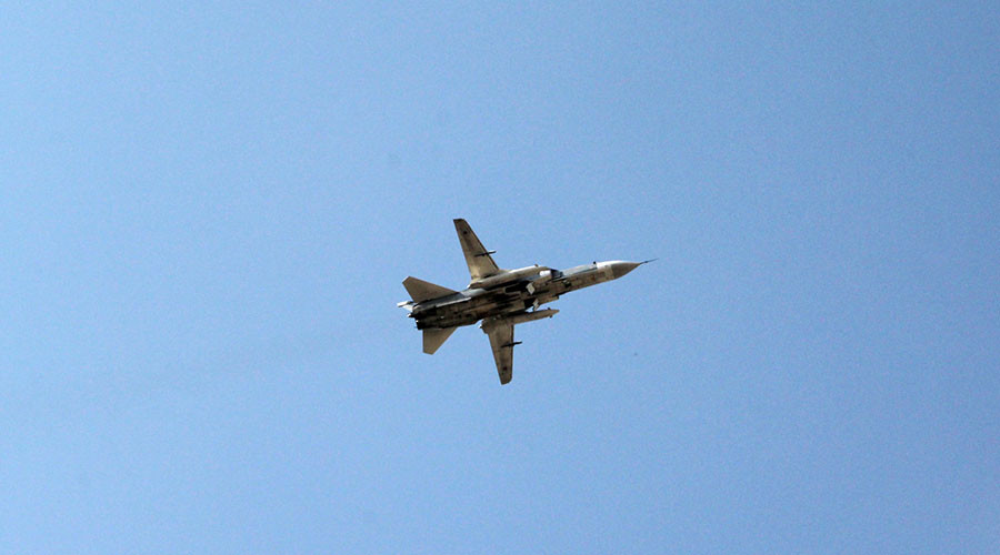 Russian Warplanes Strike ISIS Hideouts In Deir Ezzor Following Deadly Attack On Syrian Army Troops