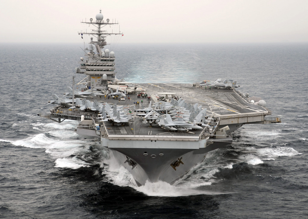 US Pulls Aircraft Carrier Out of Persian Gulf as Russian ...