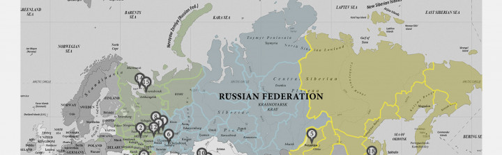 Russia Military Maps - Russian map