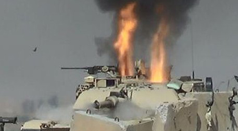 How Soviet missiles penetrate US tanks in Yemen