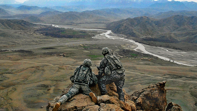 Taliban Claims Its Fighters Killed Nine U.S. Service Members In Central Afghanistan