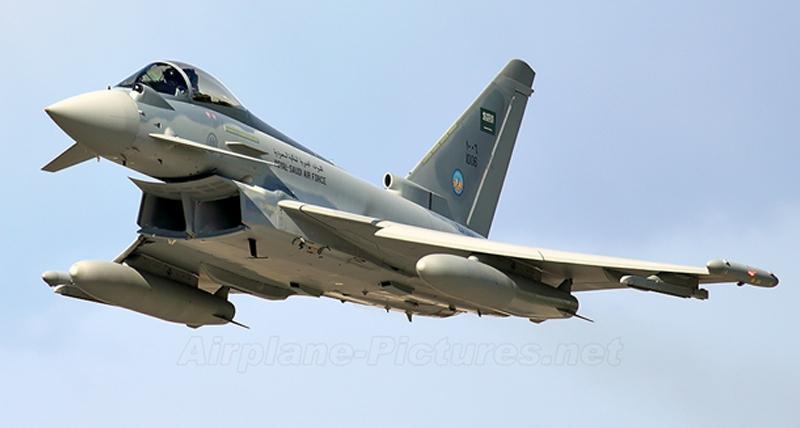 Saudi Arabia Buys 48 Typhoon Fighters Jets From U.K.