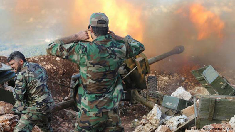 Syrian Army Pounds Militant Positions In Northern Lattakia