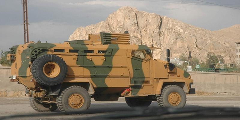Turkish Army Kirpi MRAP on duty somewhere in southern Turkey.