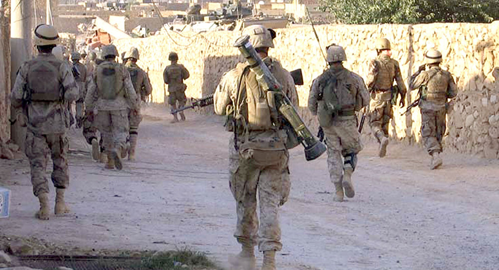 Iraq's Volunteer Forces Wants US Marines to Leave