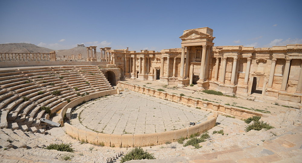 Syria: Russians Clearing Mines in Palmyra