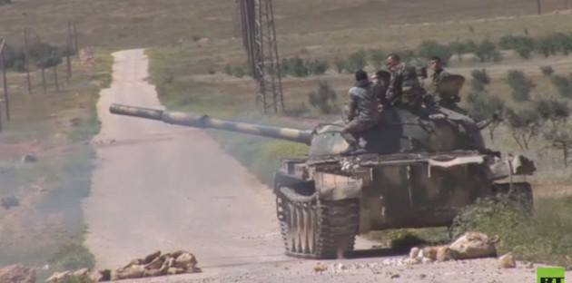 Syria's Army advances to the Palmyra city gates