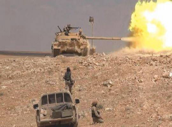 Syria's Army Advancing on Quraytayn, Clashing with ISIS