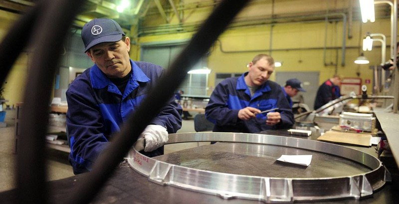 The Votkinsk Plant in Ural defends Russia