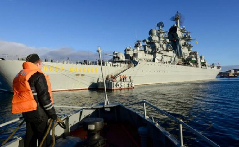 Russia: Two nuclear cruisers will receive hypersonic missiles