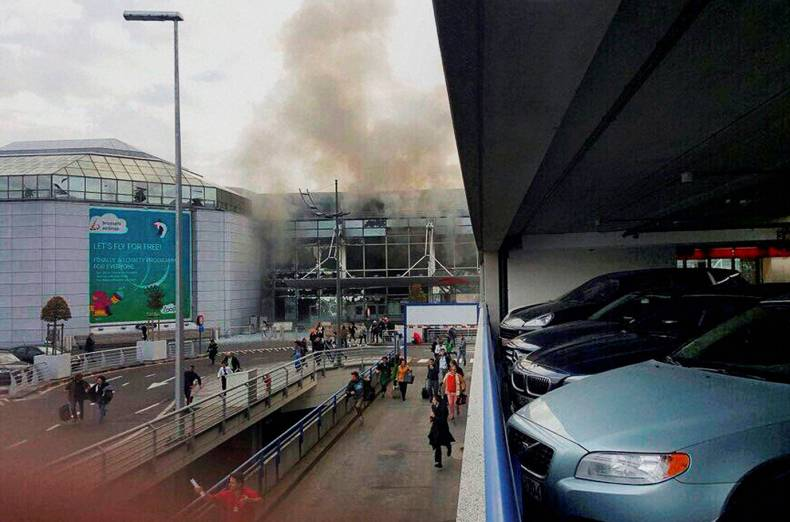 The Islamic State Claims Responsibility for Brussels Attacks