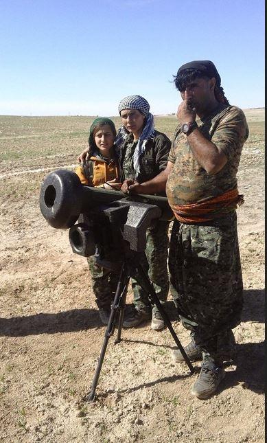 Javelin anti-tank missiles in Syria?