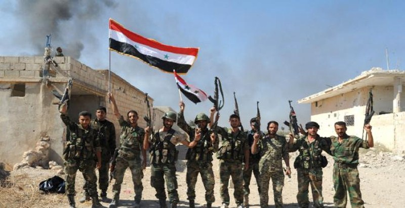 Syrian Army advances along Hama-Aleppo highway