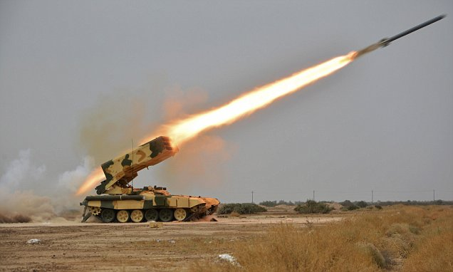 Russian Heavy Flame-Blast Systems Help Iraq's Fores against ISIS
