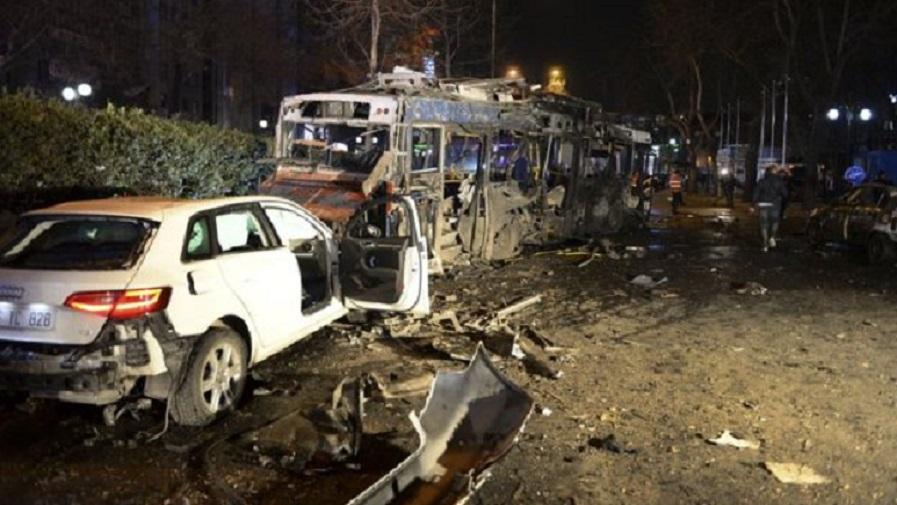 """Ankara Car Bomb. The """"Trace"""" IS .."""