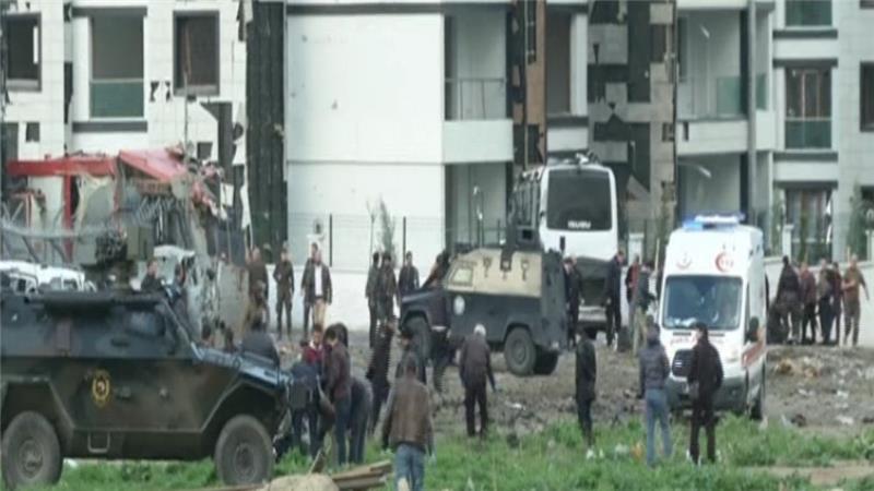 7 Turkish Police Officers Were Killed in Diyarbakir