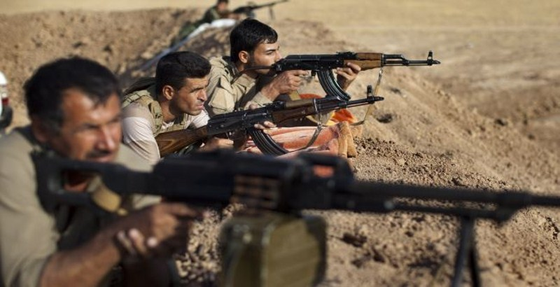 Peshmerga forces repel ISIS attack in west Kirkuk