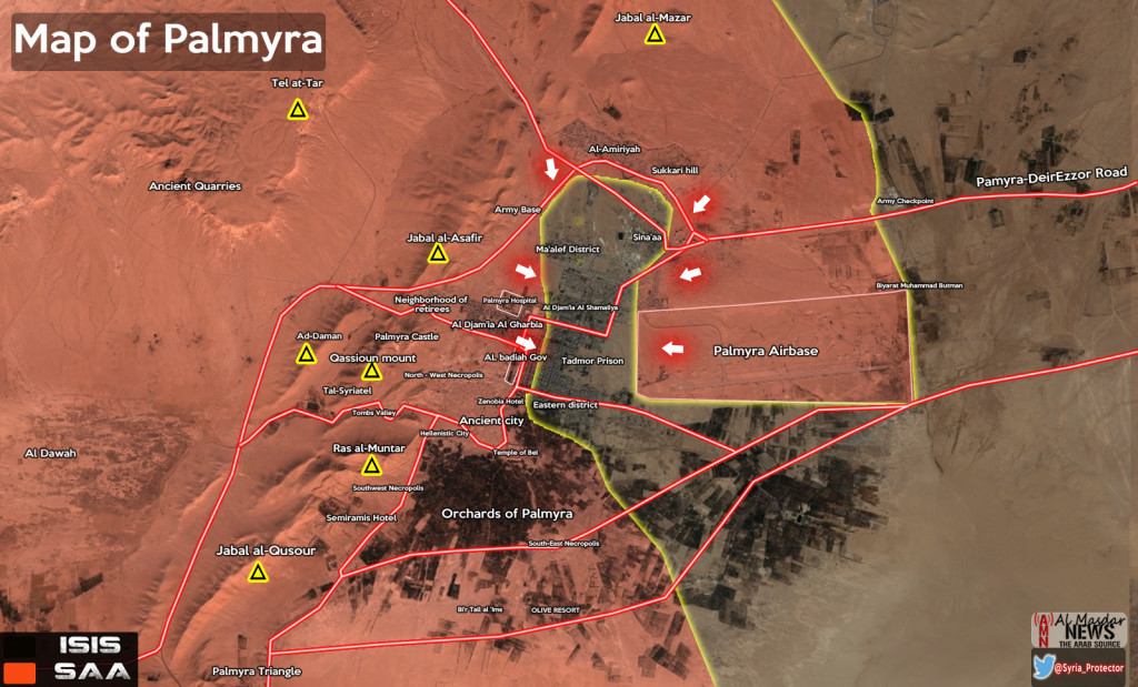 MARCH, 26. Syrian Army Decisive Attack in Palmyra