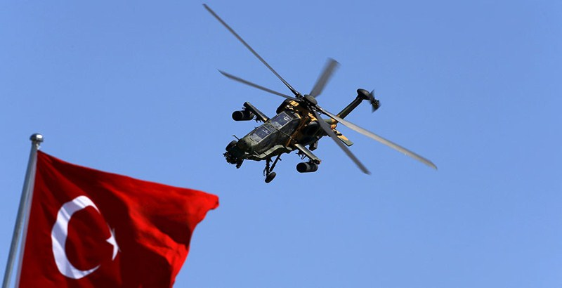 Kurds down a Turkish military helicopter in Iraq