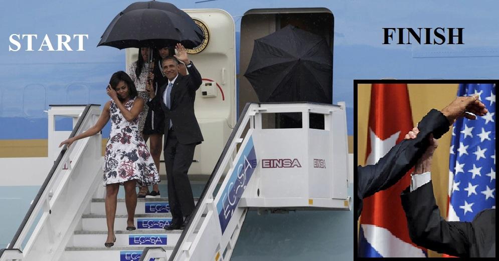 Castro Says NO to Obama's Clap