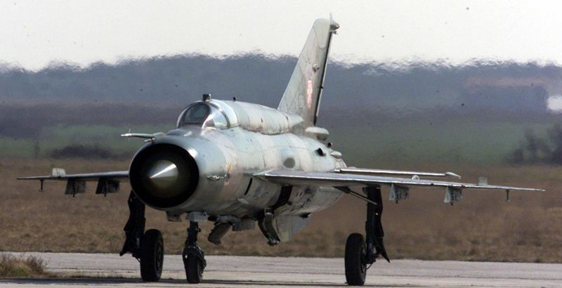 Croatian MiG-21 jets bought from Ukraine are made of old parts