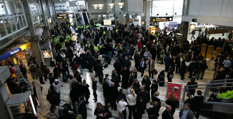 Explosion/bomb threat at Sweden's second-largest airport reported