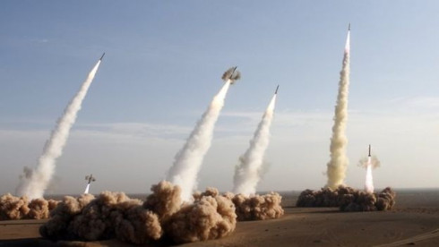 Iran test-fires missiles in response to the US sanctions