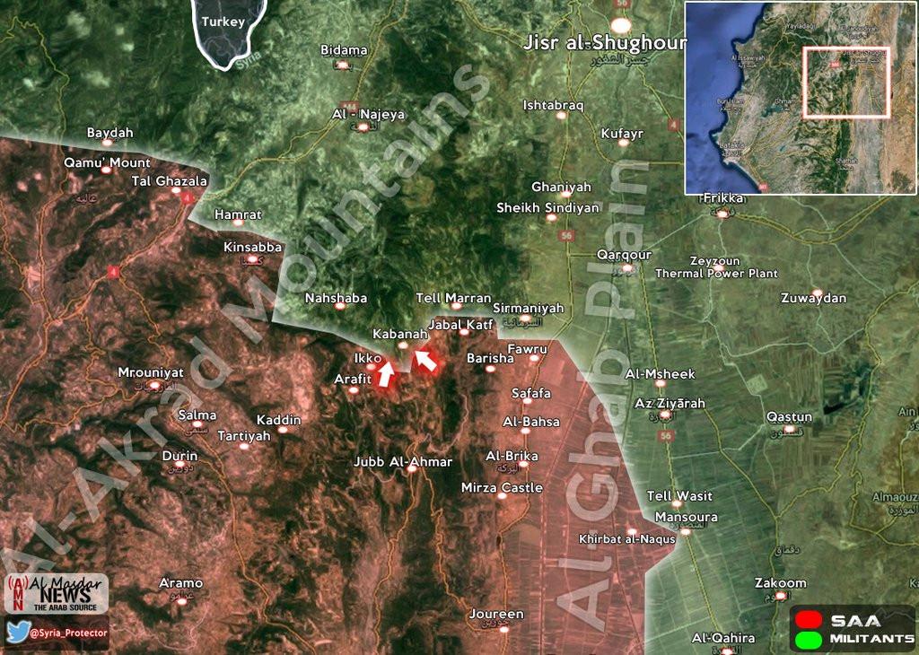 Syrian Army advances on strategic village bordering Idlib
