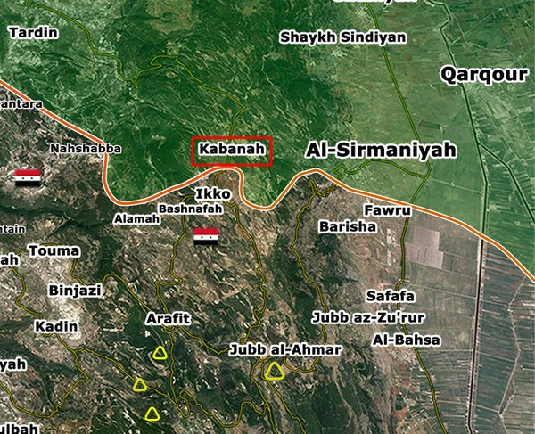 Syrian Army Advances on Kabanah in Latakia