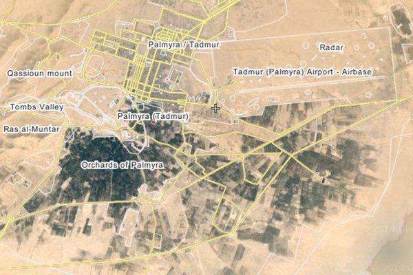 Syria: Palmyra's Airbase Backs Online