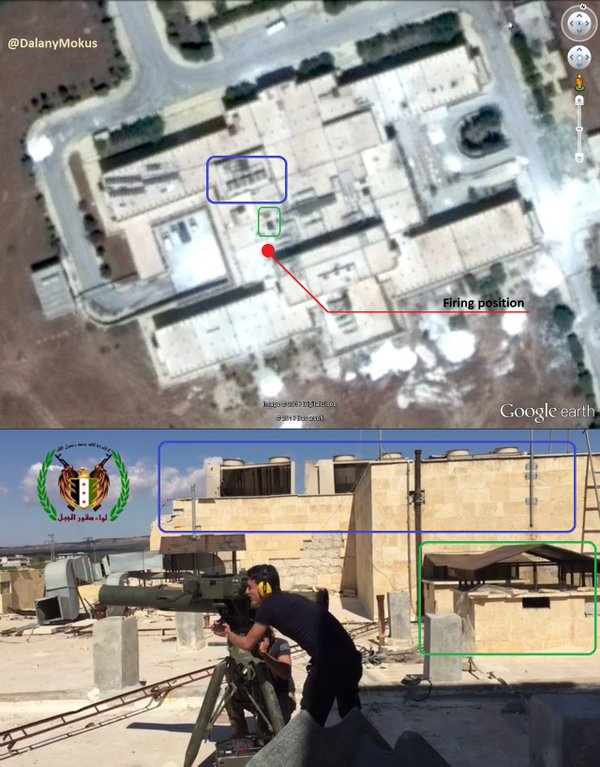Syria: 'Moderate Rebels' Azaz National Hospital as a Combat Position (Photo)