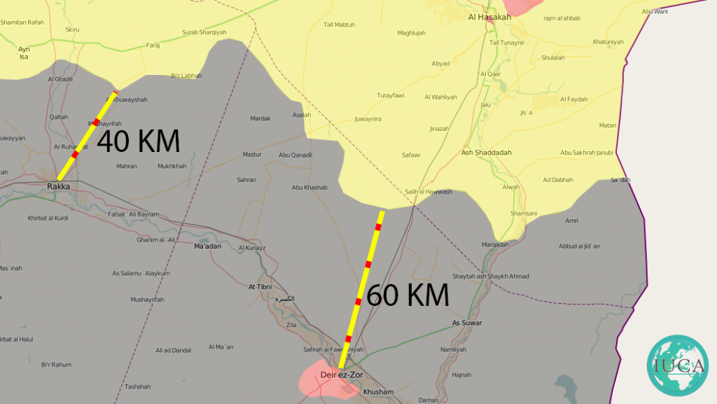 Kurdish militias close in on two major ISIS cities in Syria