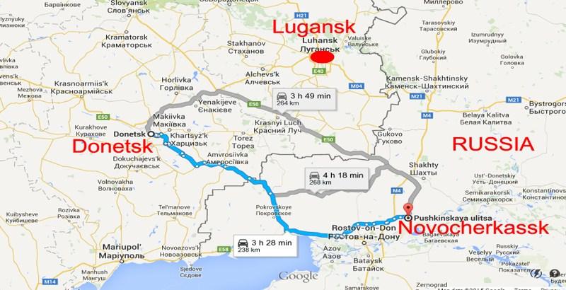 Three Ukrainian soldiers killed by landmine explosion in Lugansk
