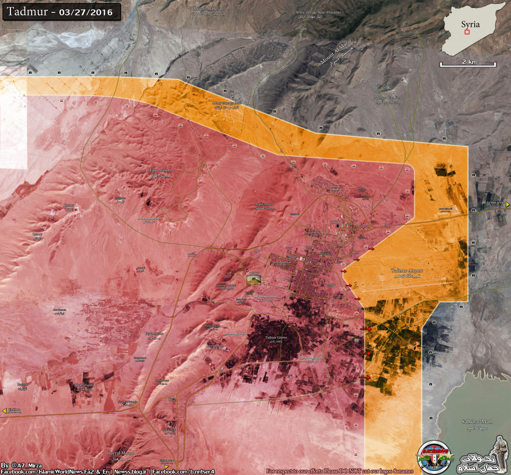Syria: Palmyra Is Liberated. What Now?