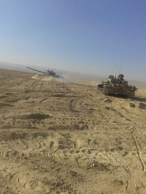ISIS offensive at Jubb Al-Jarrah flops while the government forces advance on Palmyra