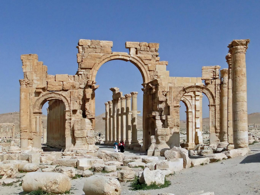 Why is David Cameron so silent on the recapture of Palmyra from the clutches of ISIS?