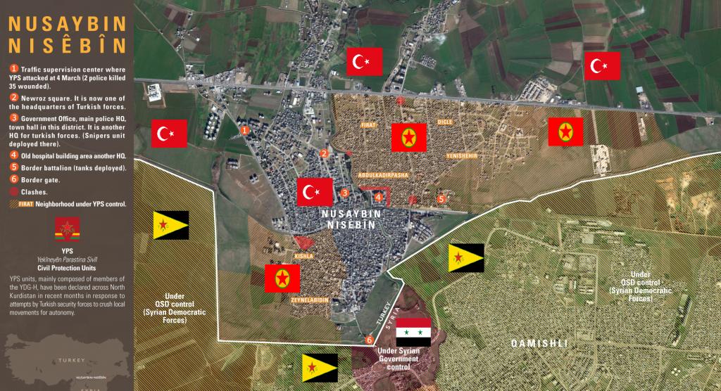 CIVIL WAR IN TURKEY: Heavy Fights in Rebellious Nusaybin