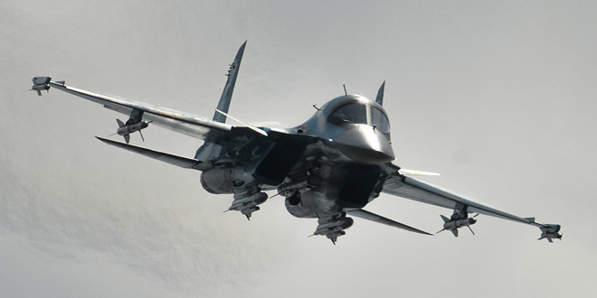 Russian Air Force Paralyzes ISIS in Southeast Homs