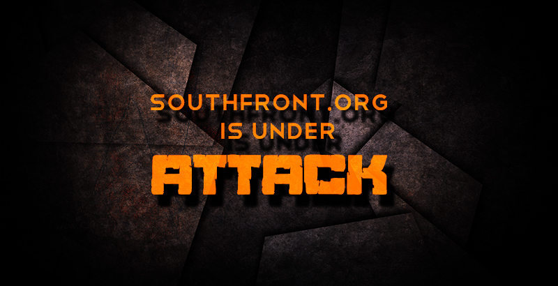 SouthFront Website Is Under Attack