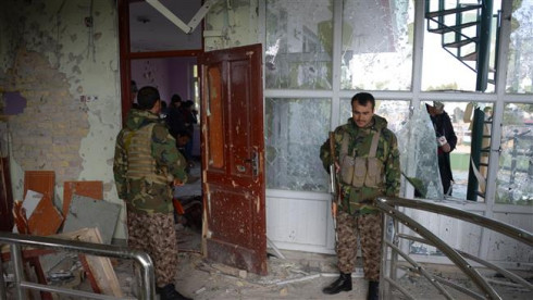 Blasts and gunfire killed at least 6 outside Indian consulate in Afghanistan's Jalalabad