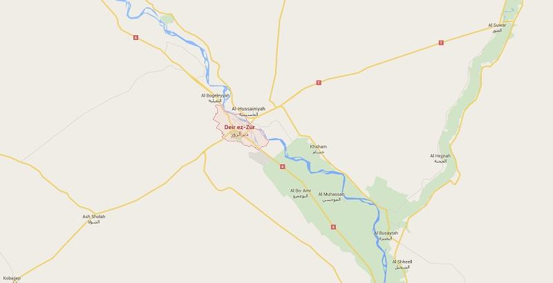 Syrian air force hammers ISIS positions across Deir Ezzur