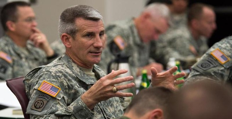 New General took coalition command in Afghanistan