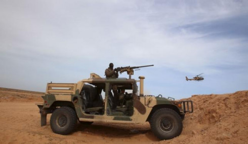 10 terrorists were killed by the Tunisian troops around Ben Guerdan