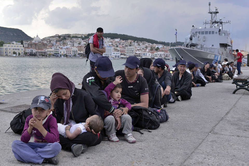 Turning Greece Into Giant Concentration Camp?