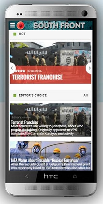 SouthFront Mobile Version Has Been Launched