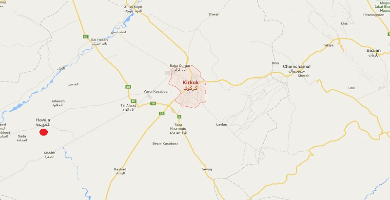 ISIS head Abu Bakr al-Baghdadi arrived in Kirkuk
