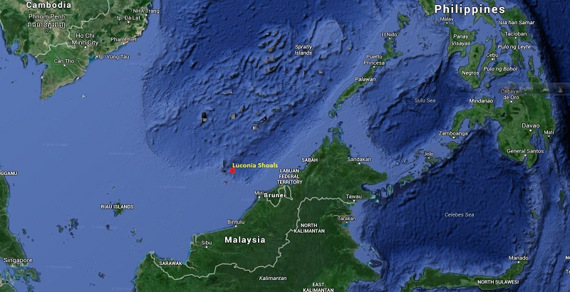 100 Chinese boats enter into Malaysian water